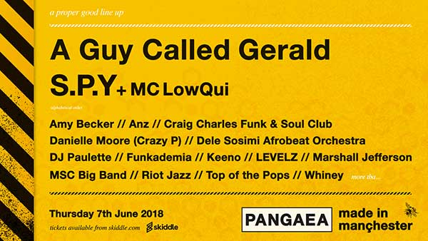 A Guy Called Gerald Unofficial Web Page: Live/DJ Dates - 2018