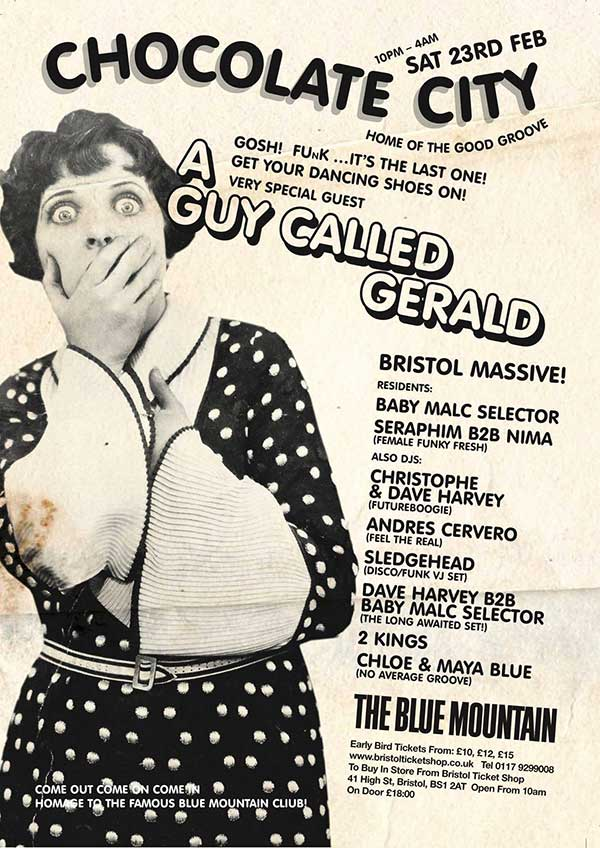 A Guy Called Gerald Unofficial Web Page: Live/DJ Dates - 2019
